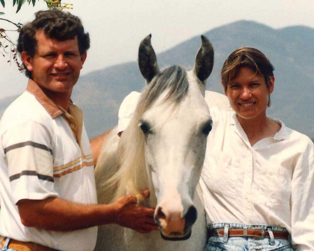 Lee and David Black of Nyota Ya Nyika Arabians