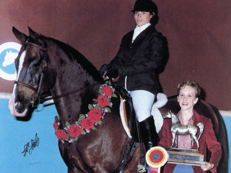 From February 1983: Dressage at the 1983 U.S. Nationals