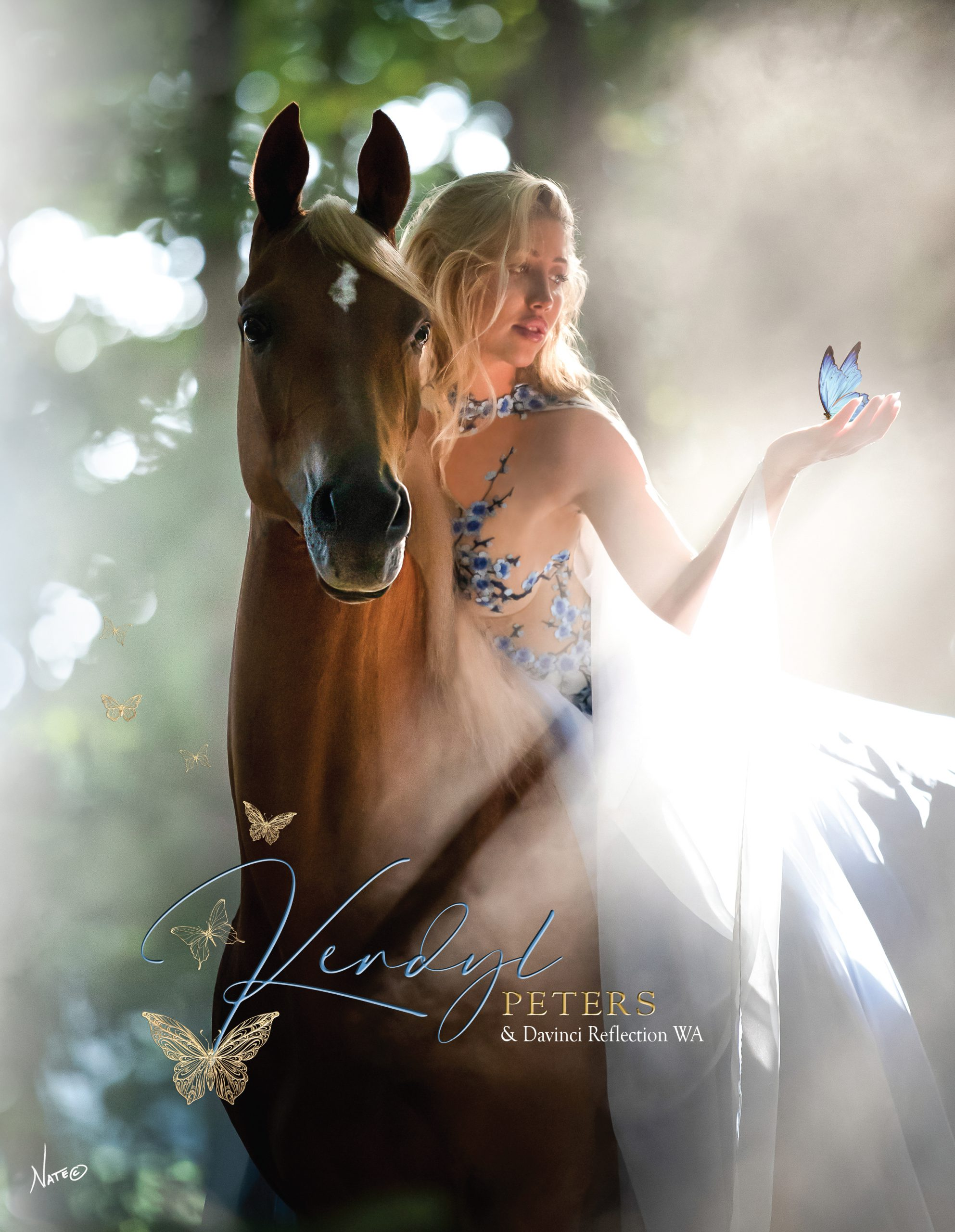 Cover Story - Davinci Reflection WA and Kendyl Peters