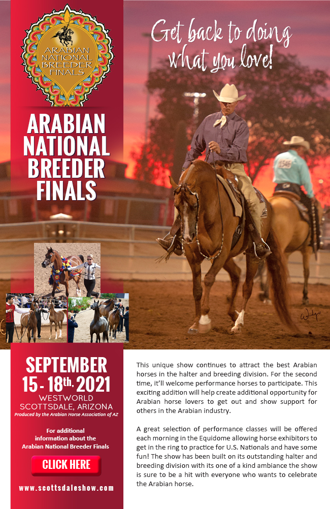 """AHW """"On The Air"""" ~ 2021 Arabian Nationals Breeders Finals with Guest Greg Knowles"""